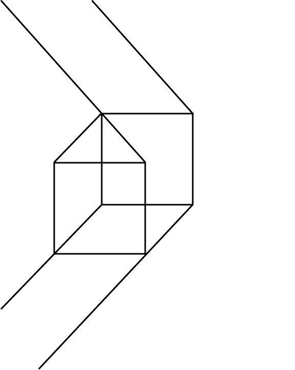 Impossible-cube